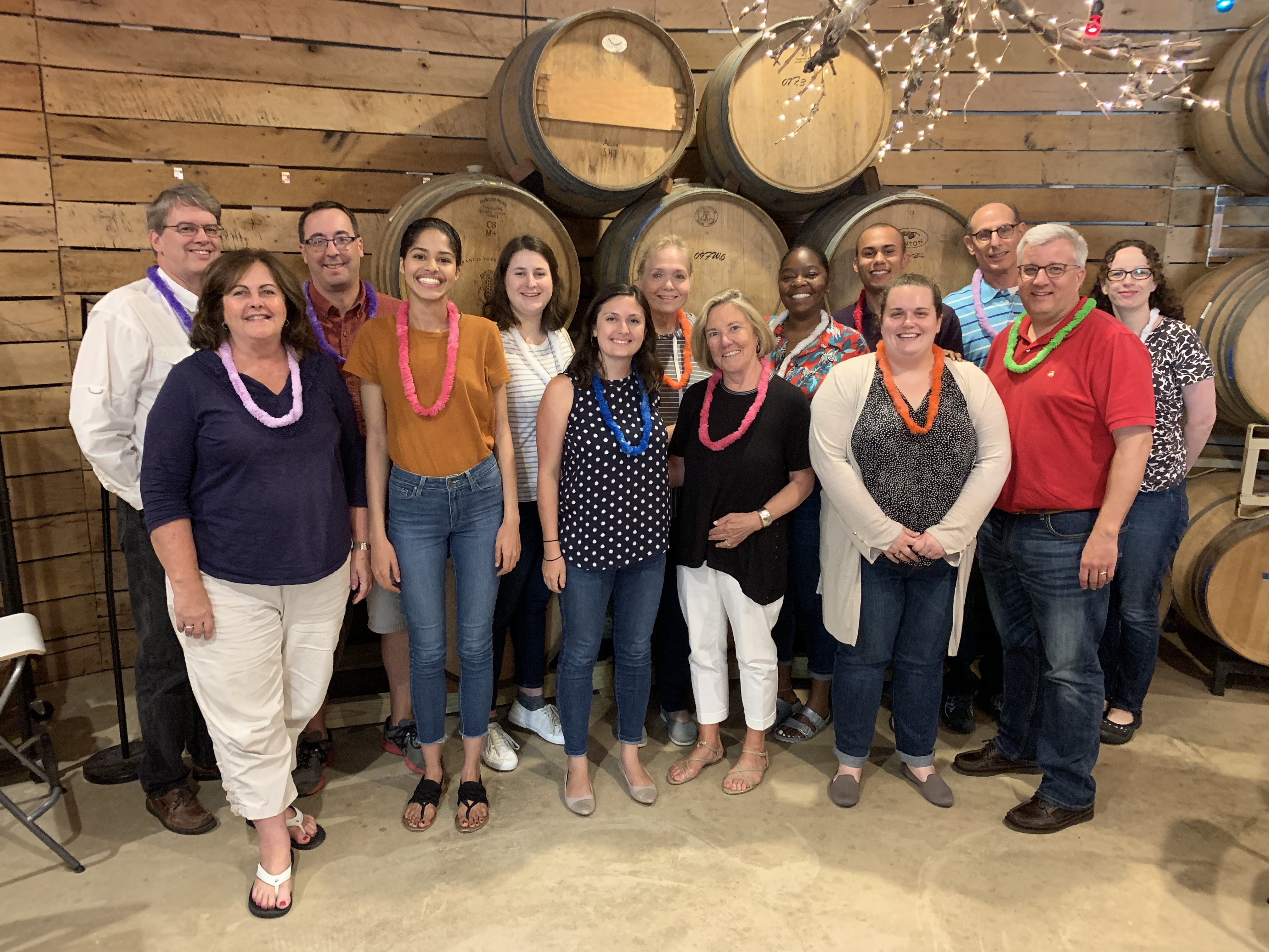 NCFP staff at 2019 staff retreat