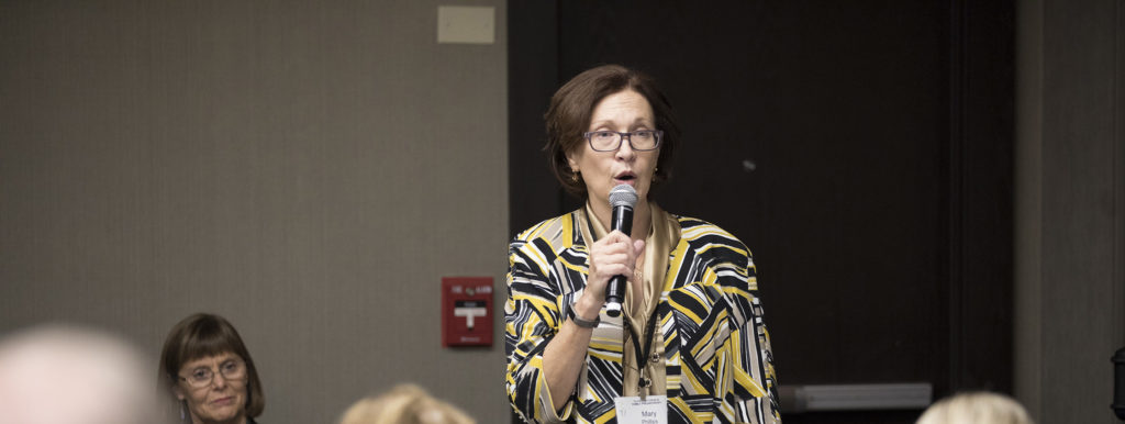 Mary Phillips at 2017 National Forum on Family Philanthropy