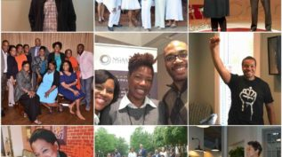 Collage of photos from New Generation of African American Philanthropists, Charlotte, NC