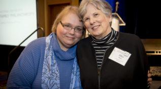 Ginny Esposito and Alice Buhl