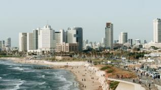 Photo of an Israeli beach
