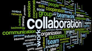 Wordle - Collaboration related words