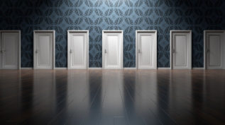 seven doors in a room - decision making and choices