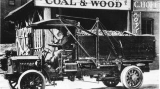Hoffberger coalwood truck from 1913