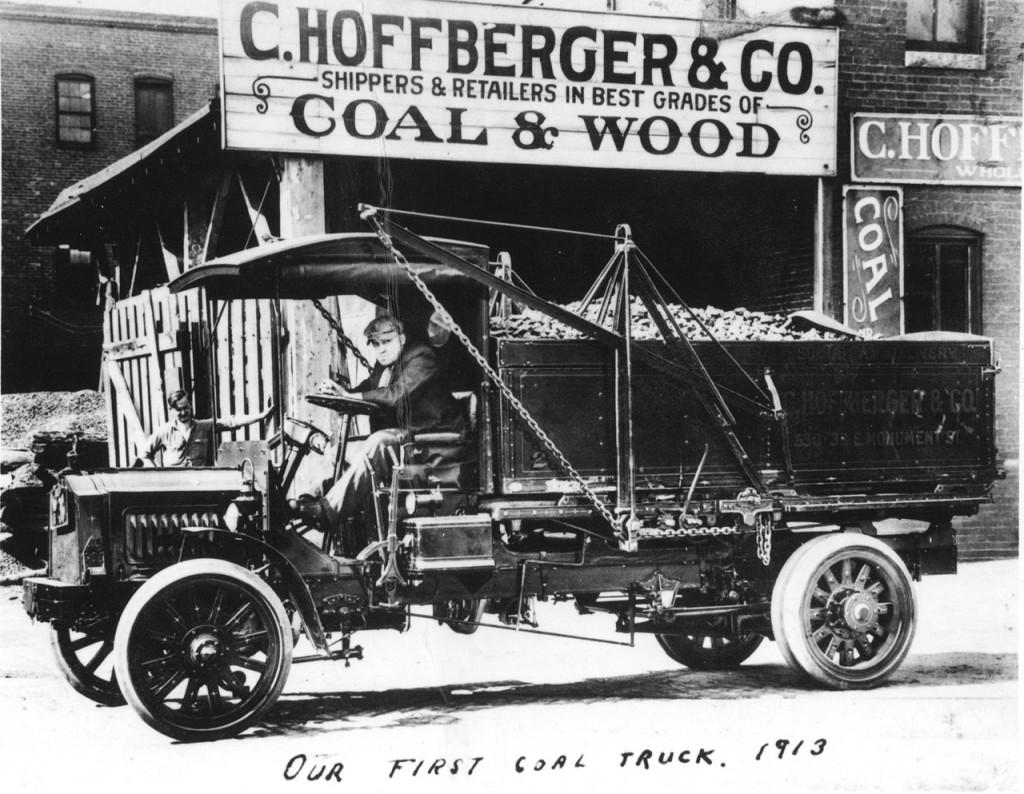 Hoffberger coalwood truck from 1913